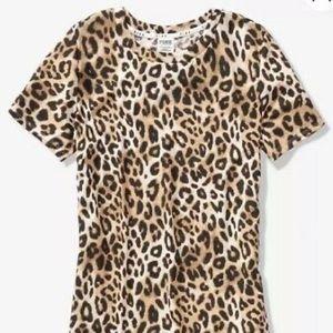 ✨PINK BY VICTORIAS SECRET  leopard tee ✨